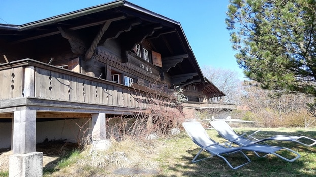 WONDERFUL AUTHENTIC CHALET WITH GREAT VIEWS - GSTAAD