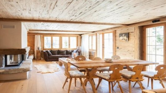 GRAND LUXURIOUS NEW CHALET WITH SAUNA - GSTAAD