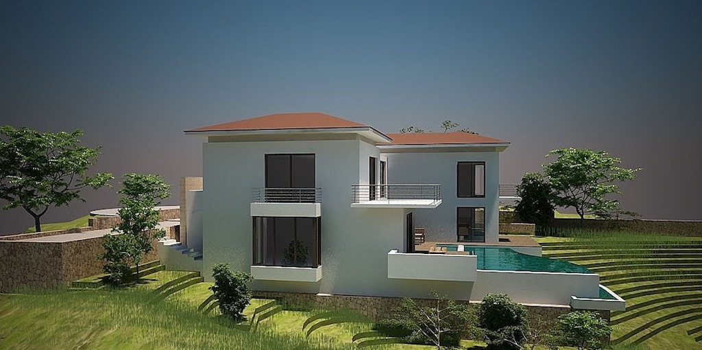 Villa's left view